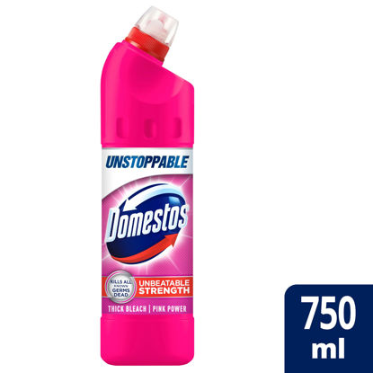 Picture of Domestos Pink Power Thick Bleach 750 ml