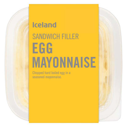 Picture of Iceland Sandwich Filler Egg Mayonnaise 200g