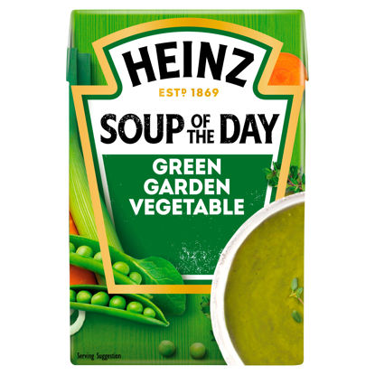 Picture of Heinz Soup Of The Day Green Garden Vegetable Soup 400G