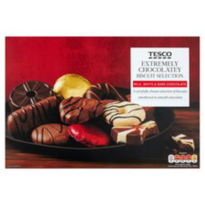 Picture of Tesco Chocolate Biscuit Assortment 450G
