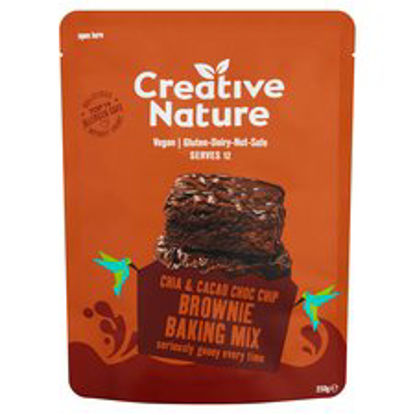 Picture of Creative Nature Free From Brownie Baking Mix 250G