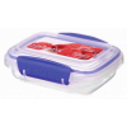 Picture of Sistema KLIP IT Food Storage Container, 200 ml, Clear with Blue Clips