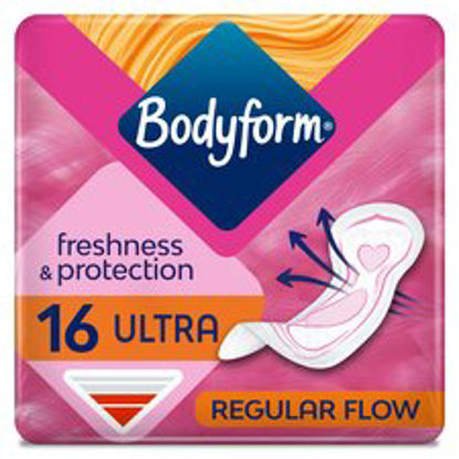 Picture of Bodyform Ultra Normal Sanitary Towels 16 Pack