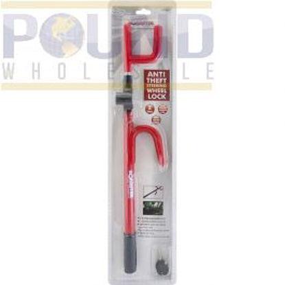 Picture of hook lock Bar anti theft car or van steering wheel security / crook
