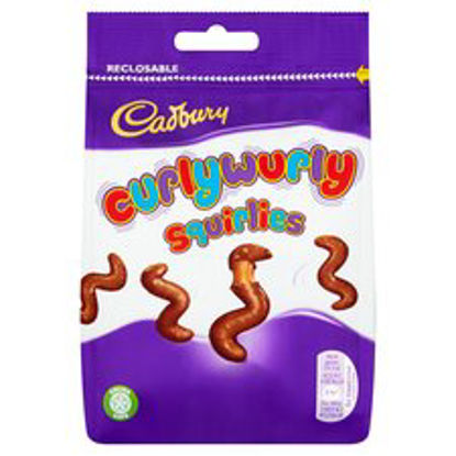 Picture of Cadbury Curly Wurly Squirlies 110G