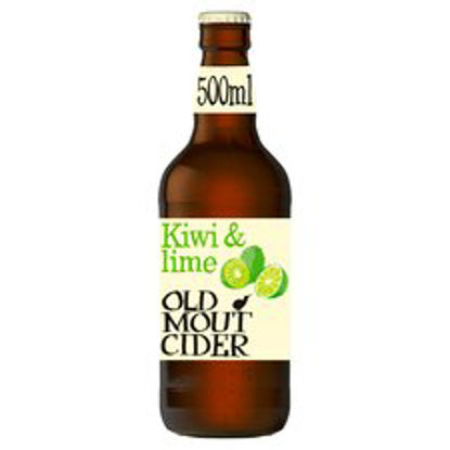 Picture of Old Mout Kiwi & Lime Cider 500Ml Bottle