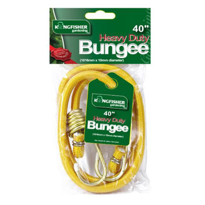 Picture of Kingfisher BC40 40-Inch Heavy Duty Bungee Strap - Yellow