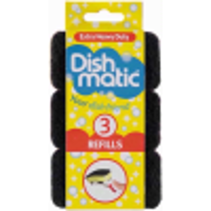 Picture of DISHMATIC BLACK REPLACEMENT HEADS