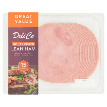 Picture of Deli Co Honey Cured Lean Ham 15 Slices 300g