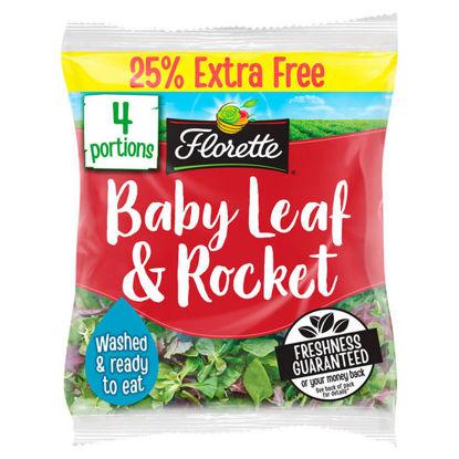Picture of Florette Baby Leaf & Rocket 100g