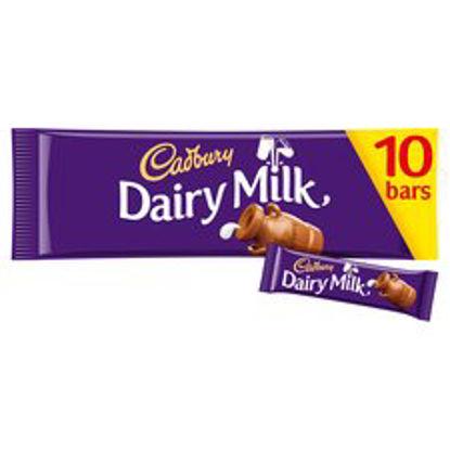 Picture of Cadbury Dairy Milk 10 Pack 293G