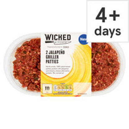 Picture of Wicked Kitchen 2 Jalapeno Griller Patties 226G