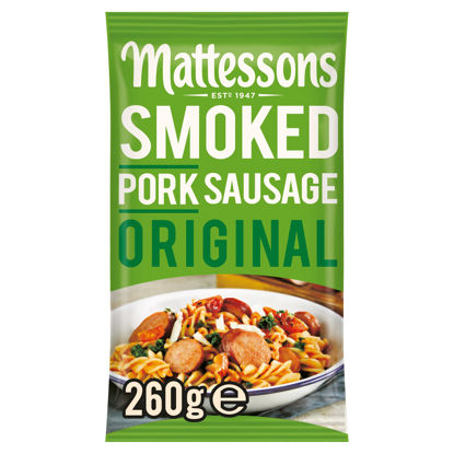 Picture of Mattessons Smoked Pork Sausage Original 260G