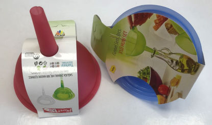 Picture of PlastArt 3 Pieces Funnel Set - Assorted Colours