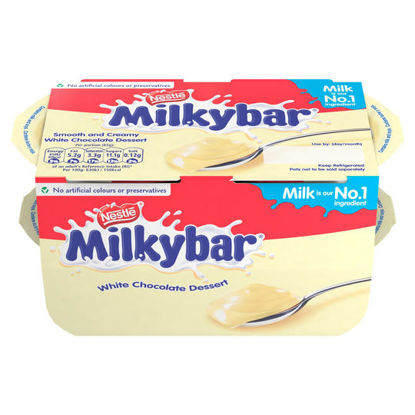 Picture of Nestlé Milkybar Dessert White Chocolate Pot 65g Pack of 4