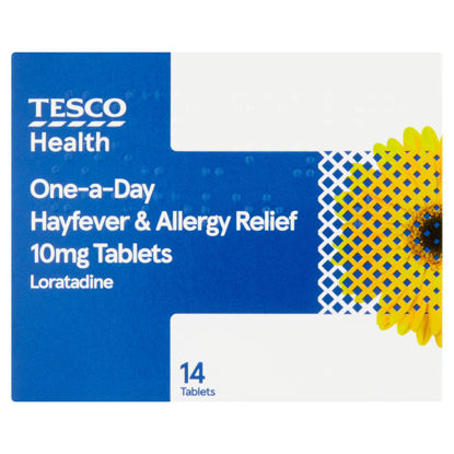 Picture of Tesco Hayfever/Allergy Relief 14S