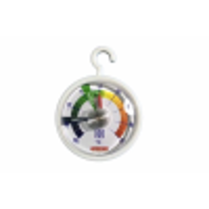 Picture of Fridge Freezer Thermometer Dial Temperature Gauge Kitchen Appliance Hanging Hook