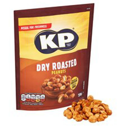 Picture of Kp Dry Roasted Peanuts 250G