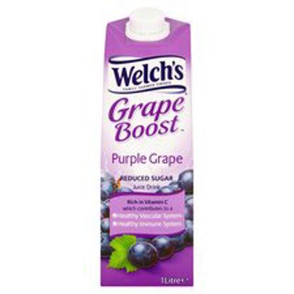Picture of Welch's Light Purple Grape Juice Drink 1 Litre