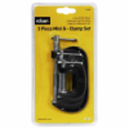 Picture of Rolson 14189 G-Clamp Set - 3 Pieces