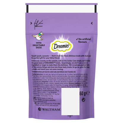Picture of Dreamies Cat Treats With Duck 60G