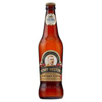 Picture of Henry Westons Vintage Cider 500Ml Bottle