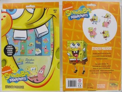 Picture of Spongebob Squarepants Sticker Paradise