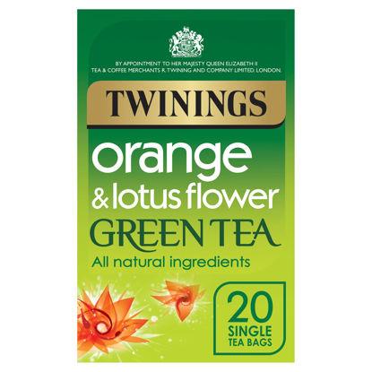 Picture of Twinings Green Tea Orange & Lotus Flower 40G