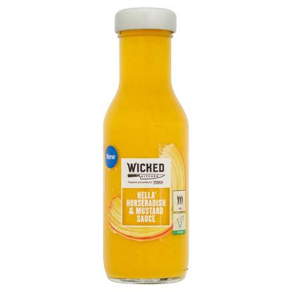 Picture of Wicked Kitchen Horseradish & Mustard Sauce 250Ml