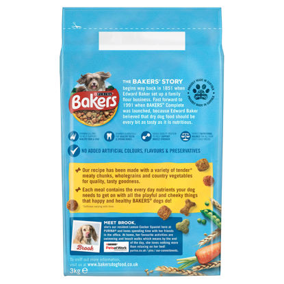 Picture of Bakers Dog Food Chicken & Vegetable 3Kg