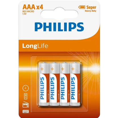 Picture of 4 Pack AAA Size Batteries