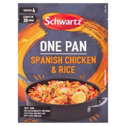 Picture of Schwartz One Pan Spanish Chicken & Rice 30G