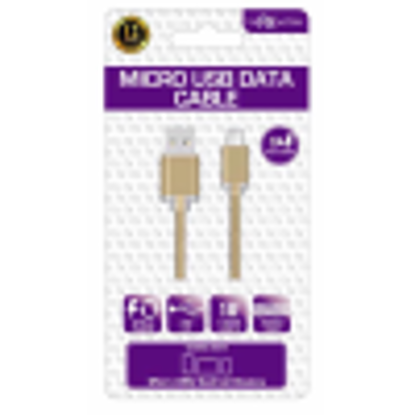 Picture of FX MICRO USB DATA CABLE GOLD