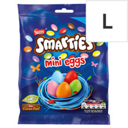Picture of Smarties Milk Chocolate Mini Eggs Giant Bag 270G