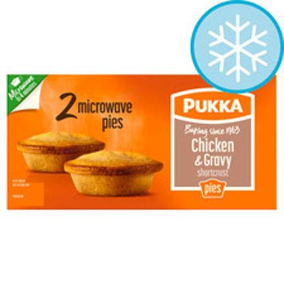 Picture of Pukka 2 Chicken & Gravy Microwave Pies 388G
