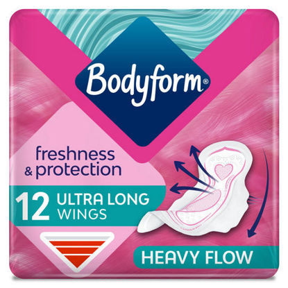 Picture of Bodyform Ultra Super Wing Sanitary Towels 12 Pack