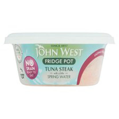 Picture of John West No Drain Tuna Fridge Pot Springwater 110G