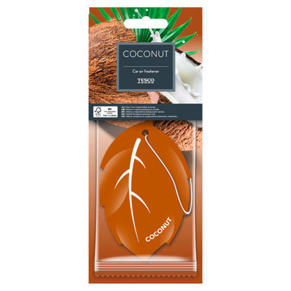 Picture of Tesco Carded Coconut Air Freshener