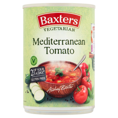 Picture of Baxters Vegetarian Mediterranean Tomato Soup 400G
