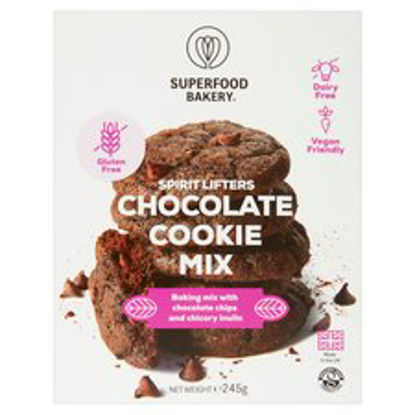 Picture of Superfood Bakery Cocoa Almond Cookie Mix 245G