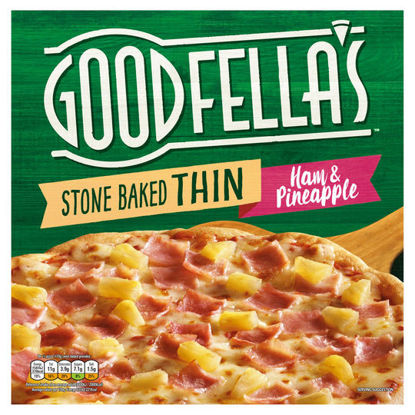 Picture of Goodfella's Stone Baked Thin Ham & Pineapple 365g