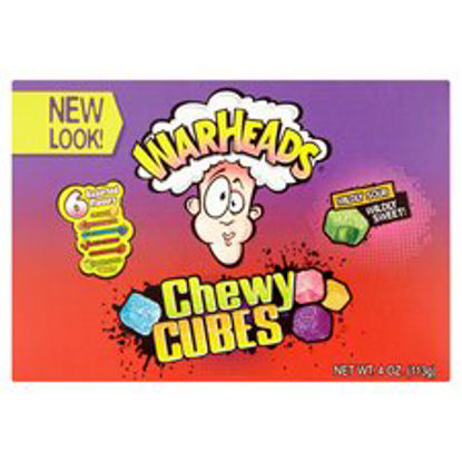 Picture of Warheads Sour Chewy Cubes Assorted Flavours 113G