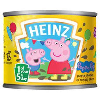 Picture of Heinz Shaped Pasta Varieties Peppa Pig 205G