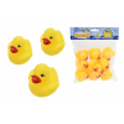 Picture of Bathtime Water Toys 9 Rubber Ducks