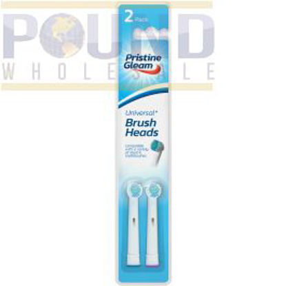 Picture of Pristine Gleam Universal Power Toothbrush Heads - Pack of 2