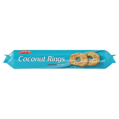 Picture of Crawford's Coconut Rings Coconut Flavour Biscuits 300g