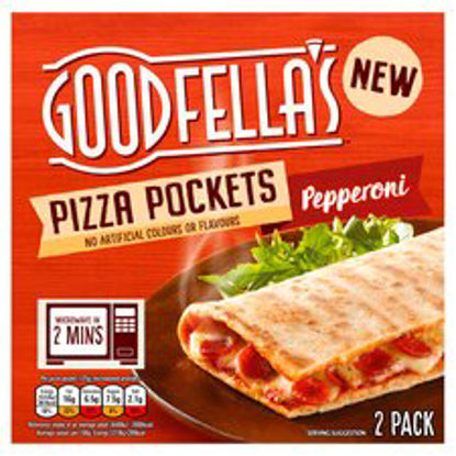 Picture of Goodfella's Pizza Pockets Pepperoni 2 Pack 250G