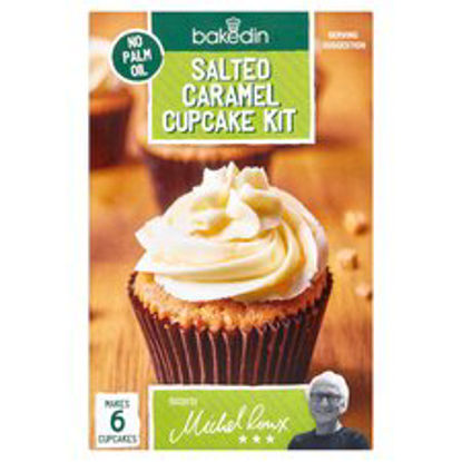 Picture of Bakedin Salted Caramel Cupcakes Kit 375G