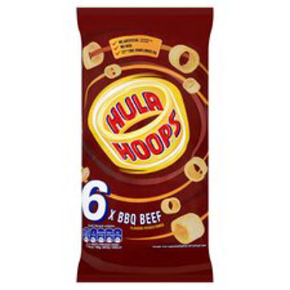 Picture of Kp Hula Hoops Bbq Beef 6X24g