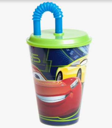 Picture of Cars 3 Tumbler with Straw - 430ml